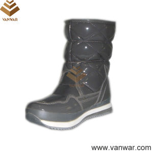 Russian Model Lady Snow Boots with Rubber Outsole (WSCB004) pictures & photos