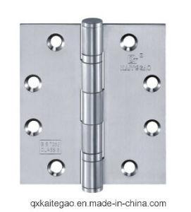 """Stainless Steel Door Hinge for Wooden Door (4.5""""X4""""X3.0mm-4BB/2BB) pictures & photos"""