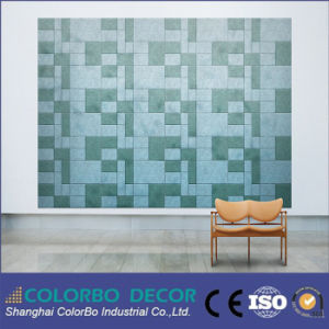 Background Wall Fire Resistance Wood Fiber Acoustic Panel pictures & photos