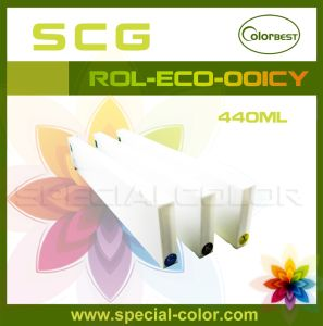 Eco Solvent Printer Ink Cartridge Without Chip pictures & photos
