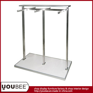 Stainless Steel Gondola Shelf for Retail Clothing Store pictures & photos