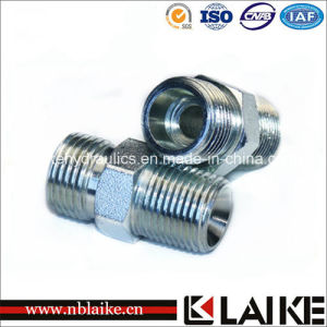 NPT Thread Male Hydraulic Adapter with High Quality