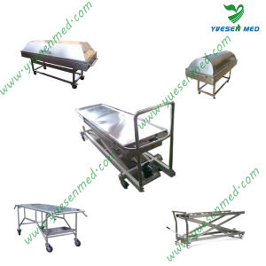One-Stop Shopping Medical Hospital Mortuary Morgue Transport Stretcher pictures & photos