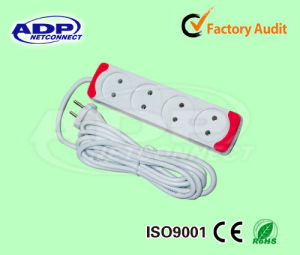 Electrical Switch Outlet 4 Ways UK Socket pictures & photos