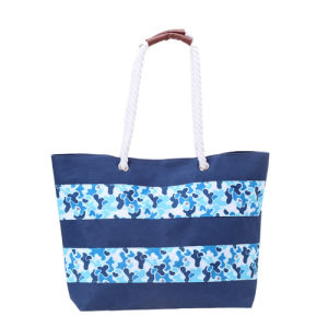 Canvas Rope Handle Shopping Bag for All Age pictures & photos