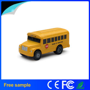 Custom 3D School Bus Shape USB Flash Disk pictures & photos