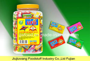 Jjw Brand 2.5g UFO Tattoo Design Stick Bubble Gum pictures & photos