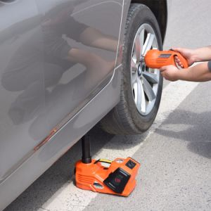 3tons Electric Car Lift Jack with Impact Wrench and Inflating Pump pictures & photos