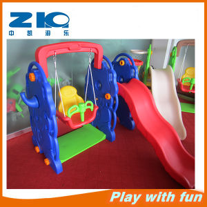 Plastic Toy Plastic Slide Indoor Playground for Kids pictures & photos