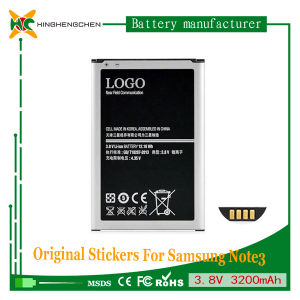 Recharge Battery for Samsung Note 3 N9000 N9002 N9005 N9006 N9008 3200mAh High Capacity Battery pictures & photos