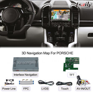 Car Multimedia Navigation Interface Box for Porsche Macan, Panamera, Cayenne Touch Navigation, Audio and Video pictures & photos