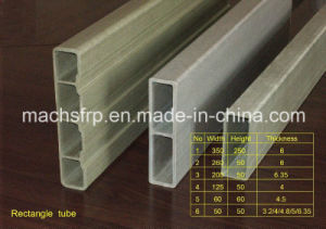 FRP/GRP/Fiberglass Pultruded Profiles with High-Quality Pultrusion pictures & photos