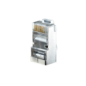 Cat. 6 Gold-Plated Shielded Network Crystal Head/RJ45 Connectors/8p8c Plug pictures & photos