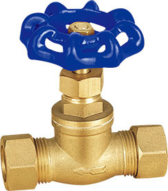 Brass Stop Valve with Steel Handwheel Sv-1140 pictures & photos