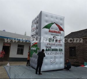 Giant Advertising Rectangular Helium Balloon Flying in The Sky K7168 pictures & photos