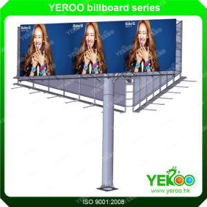 There Face Road Sign Steel Structure Steel Frame Highway Board pictures & photos