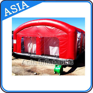 Car Repair Tent, Inflatable Car Paint Booth, Giant Inflatable Spray Booth for Car pictures & photos
