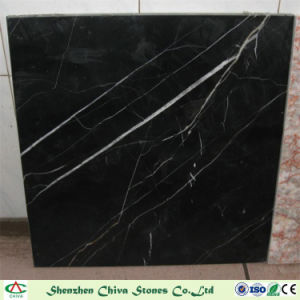 Black Nero Marquina Marble Slabs for Tiles/Countertop/Vanity Top/Wall Tiles pictures & photos
