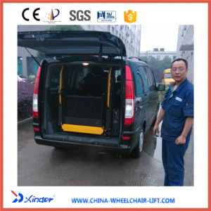 Ce Wheelchair Lift with Dual Hydraulic Lifting Arms and a Fold Platform pictures & photos