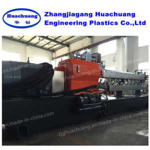 Conical Parallel Co-Rotating Twin Screw Extruder pictures & photos