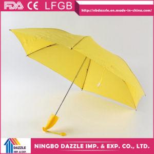 Cheap Sun Rain Mini Banana Promotion Umbrella pictures & photos