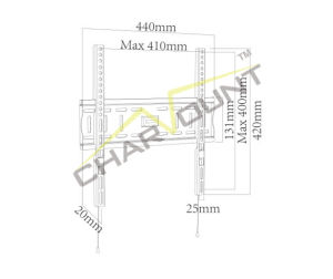 Ultra-Slim Metal New TV Wall Bracket (CT-PLB-113SX) pictures & photos