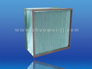 High Temperature 250c HEPA Air Filter for Air Purifier Equipment pictures & photos
