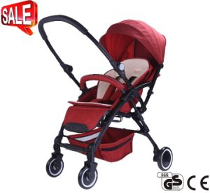 New Model Aluminum Frame Luxury Baby Pram with European Standard (CA-BB318) pictures & photos