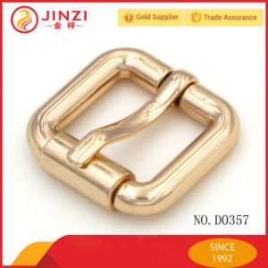 Jinzi Zinc Alloy Pin Belt Buckle Small Roller Bukle Handbag Adjustable Buckle