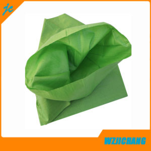 50GSM Recycled Sand Fertilier Seed Garbage PP Woven Bag of Green pictures & photos