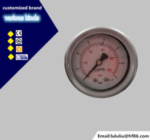High Quality Oil Filled Stainless Steel Pressure Gauge pictures & photos