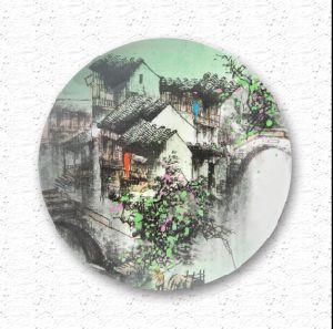 Hot Sale Top Quality Souvenir Promotional Color Ceramic Plate pictures & photos