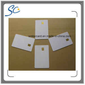 Cr80 RFID PVC Contact IC Smart Card with FM5528 Chip pictures & photos