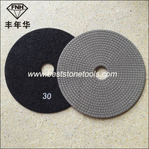 "ED-1 Diamond Electroplated Flexible Polishing Pad (diameter 3-8"") pictures & photos"