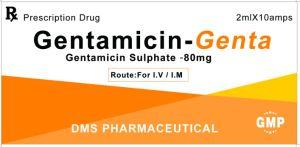 Gentamicin Sulphate Injection GMP Medicine Gentamycin pictures & photos