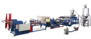 Swpc (PET) -1s Twin-Screw Sheet Extrusion Line pictures & photos