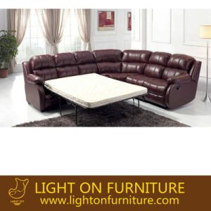 Modern Furnituer Functional Folding Sofa Bed (LR045) pictures & photos