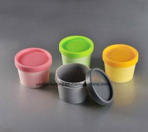 Plastic PP Jar Cosmetic Jar Cream Jar Cosmetic Bottls 100ml pictures & photos
