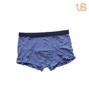 Men′s Seamless Bamboo Fibre Boxer Brief Underwear pictures & photos