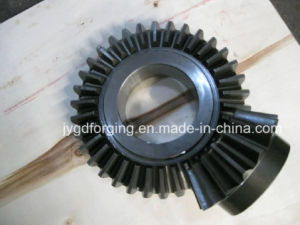 Forged ASTM A105 Steel Bevel Motor Gear pictures & photos