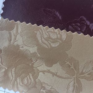 Flower Anti Mildew PVC Leather for Home Decoration pictures & photos