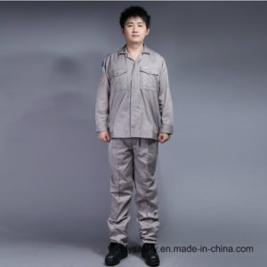 Long Sleeve Cheap High Quality 65% Polyester 35%Cotton Safety Suit Workwear (BLY2002)