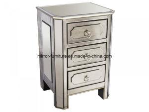 Modern Luxury Bedroom Mirrored Nightstand pictures & photos