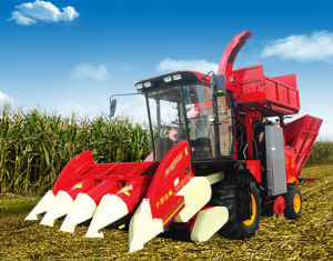 Self-Propelled Both Corn Stalk and Spike Series of Corn Harvester pictures & photos