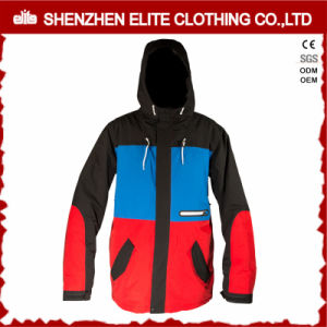 Red and Blue Winter Outdoor Clothing Ski Jacket Unisex 9eltsnbji-49) pictures & photos