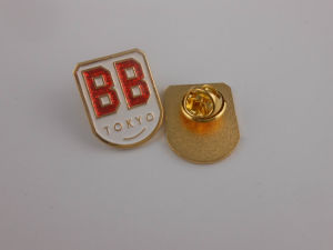 Shining Soft Enamel Gold Badge, Company Party′s Usage (GZHY-KA-009) pictures & photos