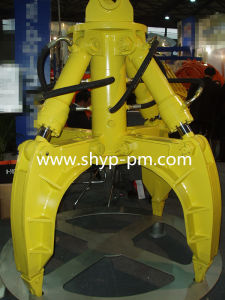 Hydraulic Type Orange Peel Grab pictures & photos