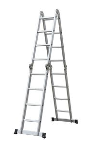 Retractable Ladder Aluminium with Big Hinger pictures & photos