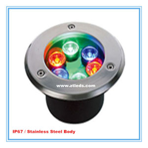 6W RGB LED Inground Light for Outdoor Decorative Lighting pictures & photos