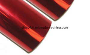 8 in 400 FT Hot Foil Stamp Metallic Red pictures & photos